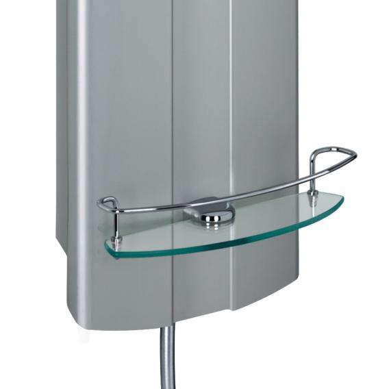 HSK ADP 100 Exklusiv Alu-Duschpaneel B: 260 H: 1400 mm, Kopfbrause Ø 300 H: 2 mm