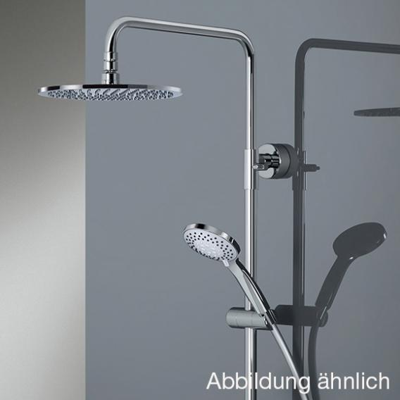 HSK AquaSwitch RS 200 Mix Einhebelmischer Shower-Set mit Kopfbrause flach weiß