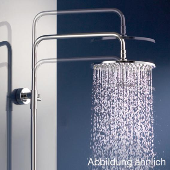 HSK AquaSwitch RS 200 Mix Shower-Set mit Kopfbrause Ø 250 H: 2 mm Glasfarbe weiß