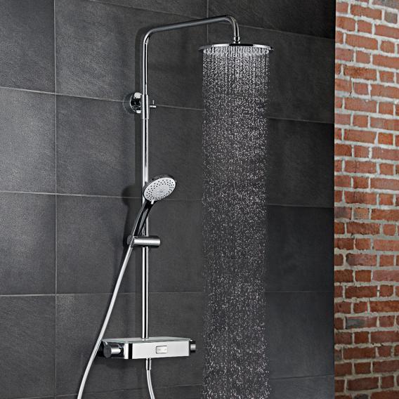 HSK AquaSwitch RS 200 Thermostat Shower-Set mit Kopfbrause Ø 250 mm, weiß
