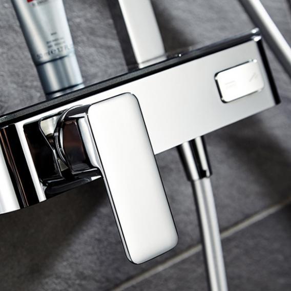 HSK AquaSwitch RS 500 Mix Shower-Set mit Kopfbrause B: 400 H: 2 T: 400 mm Glasfarbe weiß