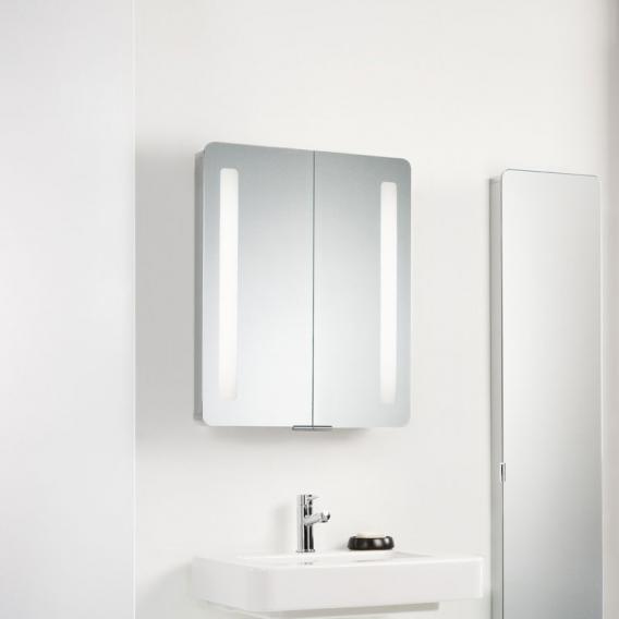 HSK ASP Softcube  Spiegelschrank mit LED-Beleuchtung mit 2 Türen