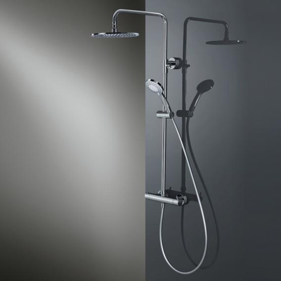 HSK RS 200 Thermostat Shower-Set H: 1365 mm, Kopfbrause Ø 400 H: 8 mm
