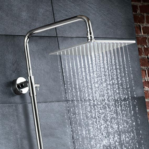 HSK RS 500 Shower-Set mit Thermostat und Kopfbrause flach