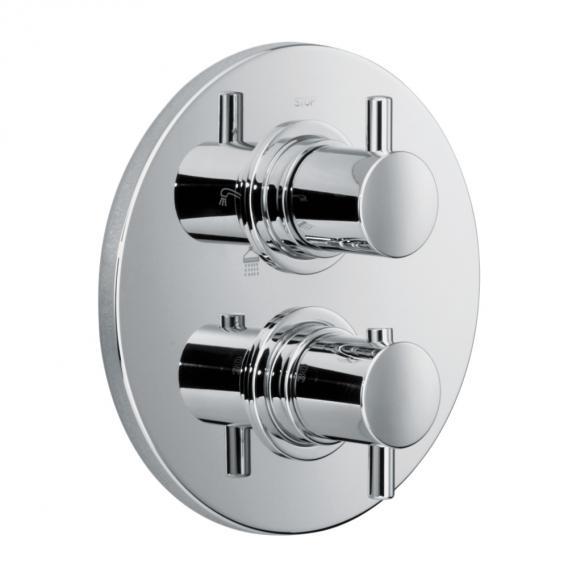 HSK Shower Set 1.05 mit Regentraverse Lavida B:1010 H: 32 T: 250 mm für Glasaufnahme Regentraverse edelstahl poliert