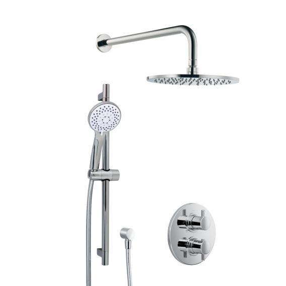 HSK Shower Set 1.05 mit Unterputz-Thermostat, Kopfbrause Ø 300 H: 8 mm