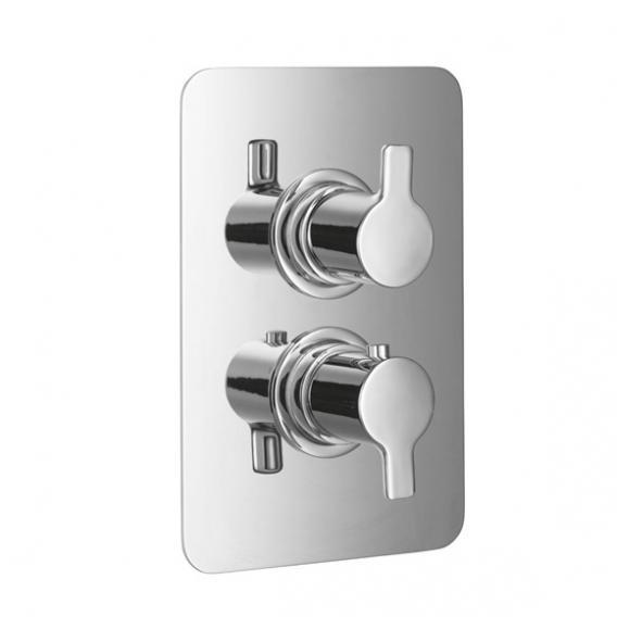 HSK Softcube Shower Set 2.04 mit Kopfbrause B: 400 H: 2 T: 250 mm, mit geradem Wandarm