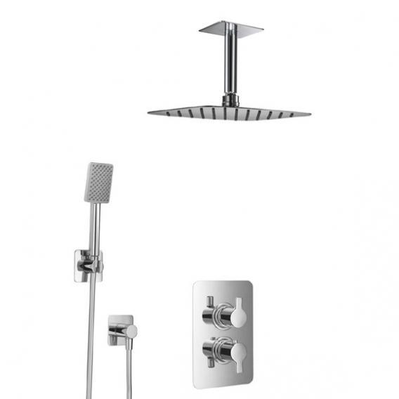 HSK Softcube Shower Set 2.04 mit Kopfbrause B: 550 H: 2 T: 350 mm, mit Deckenarm