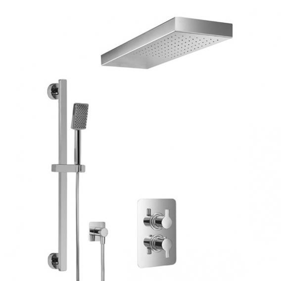 HSK Softcube Shower Set 2.05 mit freihängender Regentraverse Lavida B: 670 H: 32 T: 250 mm