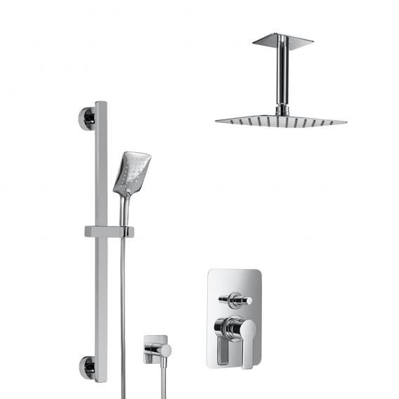 HSK Softcube Shower Set 2.25, mit Deckenarm, Kopfbrause super-flach