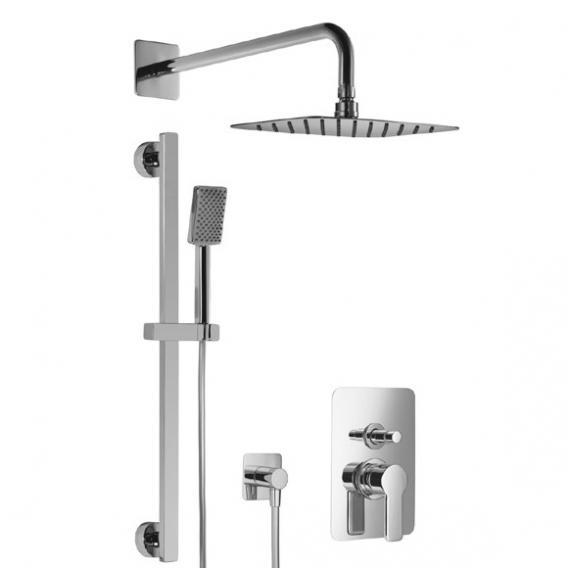 HSK Softcube Shower Set 2.25 mit Kopfbrause 300 x 200 mm