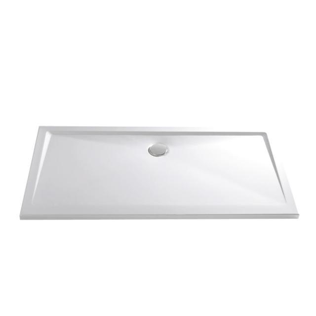 HSK Marmor-Polymer Rechteck-Duschwanne, super-flach weiß