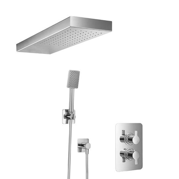 HSK Softcube Shower-Set 2.04 mit Lavida Regentraverse