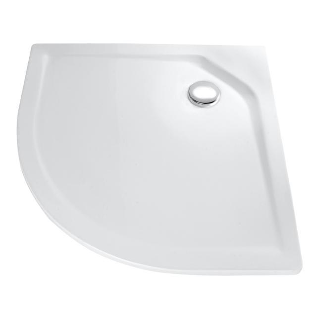 HSK Viertelkreis-Duschwanne, super-flach weiß