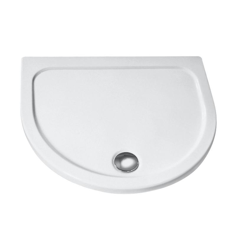 hsk halbkreis duschwanne super flach wei 535090 04 reuter. Black Bedroom Furniture Sets. Home Design Ideas