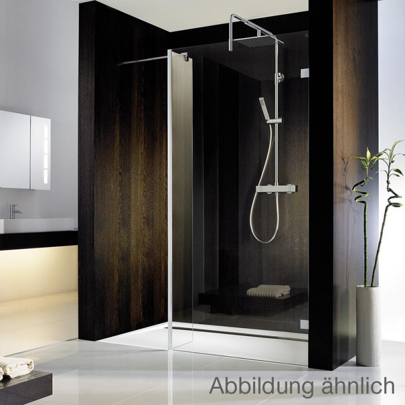 hsk walk in atelier pur duschwand seitenteil mittig mattiert chrom optik. Black Bedroom Furniture Sets. Home Design Ideas