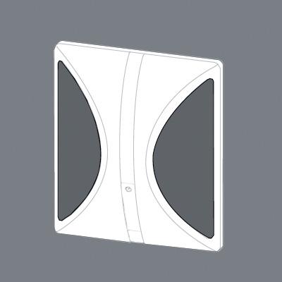 Conti+ Kunststoffeinlage zu Unterputz Urinalarmatur U10/U55 weiß