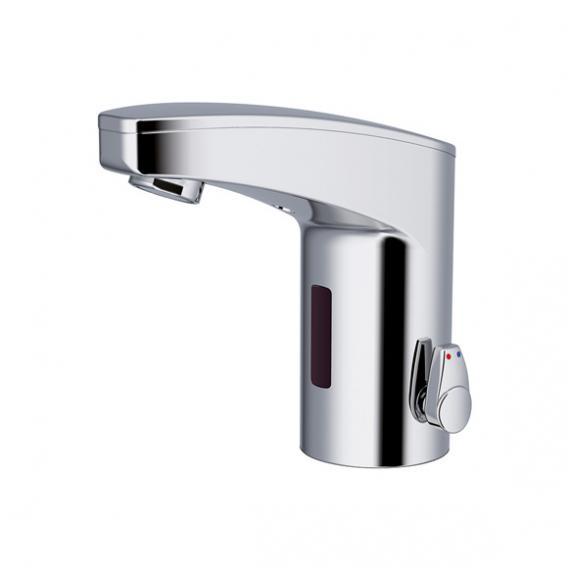 Conti+ maxx M10 Waschtischarmatur mit IR-Sensor, mit Temperaturregulierung batteriebetrieben