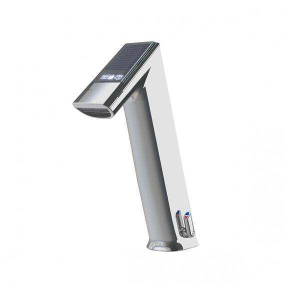 Conti+ ultra GH10 EXPERT Waschtischarmatur mit IR-Sensor, mit Temperaturregulierung, solarbetrieben ohne Ablaufgarnitur