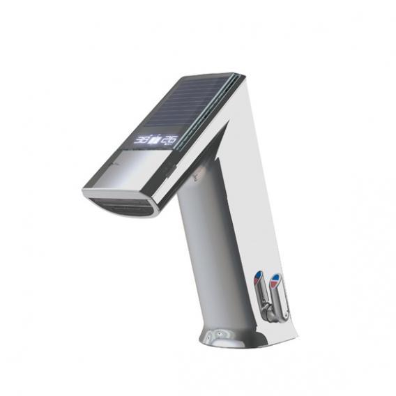 Conti+ ultra GM10 EXPERT Waschtischarmatur mit IR-Sensor, mit Temperaturregulierung, solarbetrieben ohne Ablaufgarnitur