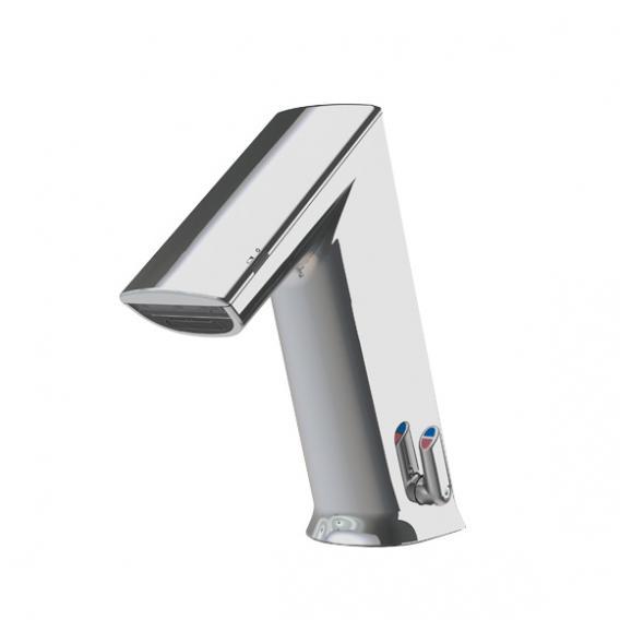 Conti+ ultra GM10 PUBLIC Waschtischarmatur mit IR-Sensor, mit Temperaturregulierung netzbetrieben, ohne Ablaufgarnitur
