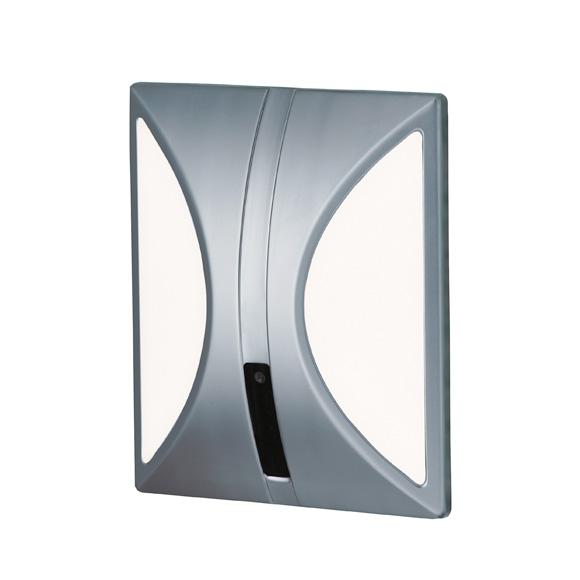 Conti+ lino U10 Urinalarmatur Unterputz mit IR-Sensor, Batteriebetrieb chrom matt/weiß