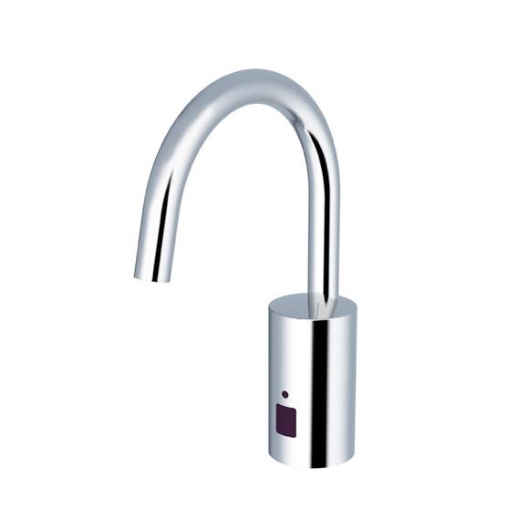 Conti+ loopino G20 Click Waschtischarmatur mit IR-Sensor, ohne Temperaturregulierung batteriebetrieben, ohne Ablaufgarnitur