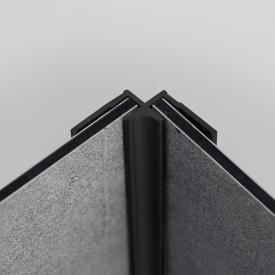 HÜPPE EasyStyle Eckprofil, innen black edition
