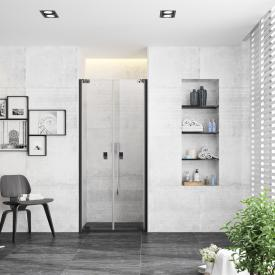 Hüppe EasyStyle Wandverkleidung 2-er-Set italian stone weiß tile