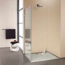 Hüppe Enjoy elegance rahmenlose Seitenwand alleinstehend ESG klar / chrom