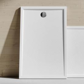 HÜPPE Purano Rechteck-Duschwanne mit Antirutsch weiß mit rutschhemmender Oberfläche