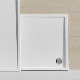 HÜPPE Purano Rechteck-Duschwanne mit Antirutsch weiß