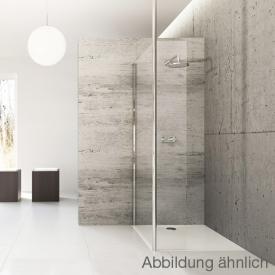 Hüppe Studio Berlin pure teilgerahmte Walk in Modell 4 ESG klar mit ANTI-PLAQUE / chrom