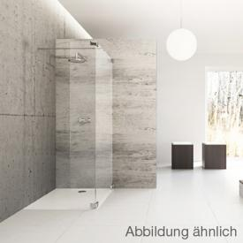 Hüppe Studio Berlin pure Walk In Modell 4 ESG klar mit ANTI-PLAQUE / chrom