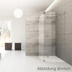 Hüppe Studio Berlin pure rahmenlose Walk In Modell 4 ESG klar mit ANTI-PLAQUE / chrom