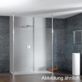 HÜPPE Studio Paris elegance teilgerahmte Seitenwand freistehend ESG klar mit ANTI-PLAQUE / chrom
