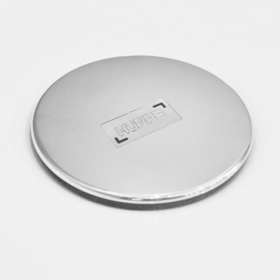 HÜPPE Ablaufgarnitur u. Ablaufkappe für Duschwannen, Komplett-Set chrom
