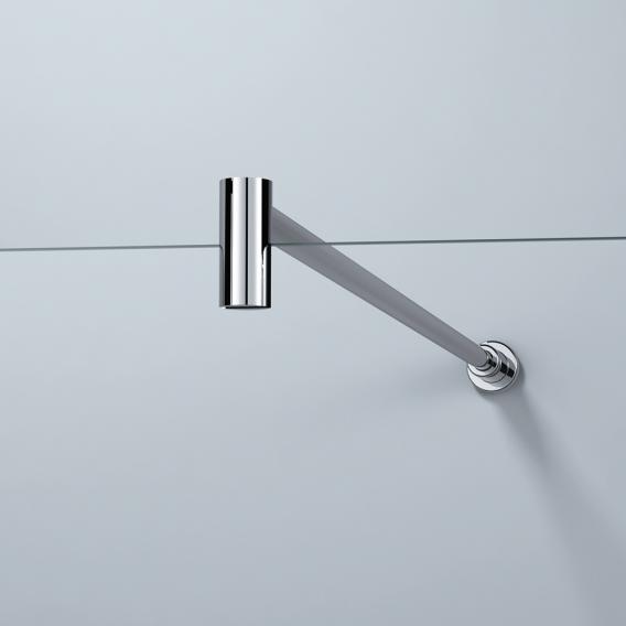 HÜPPE Design elegance Seitenwand alleinstehend ESG sand plus mit ANTI-PLAQUE / chrom