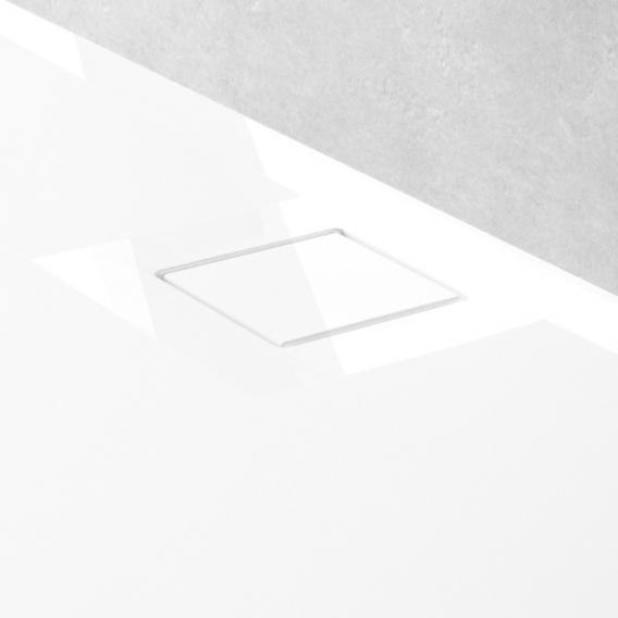 HÜPPE EasyFlat Rechteck-Duschwanne weiß, mit EasyProtect