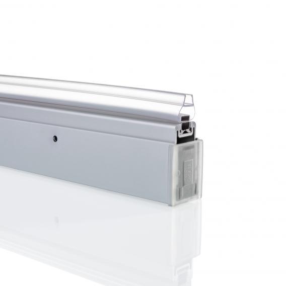 HÜPPE Ergänzungsset Nische L: 190 cm silber matt