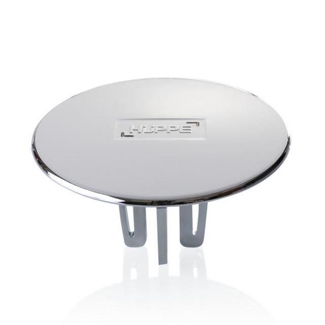 HÜPPE EasyStep Ablaufgarnitur 53 mm für Duschwannen, Komplett-Set chrom