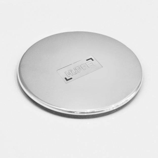 HÜPPE EasyStep Ablaufgarnitur 90 mm für Duschwannen, Komplett-Set chrom