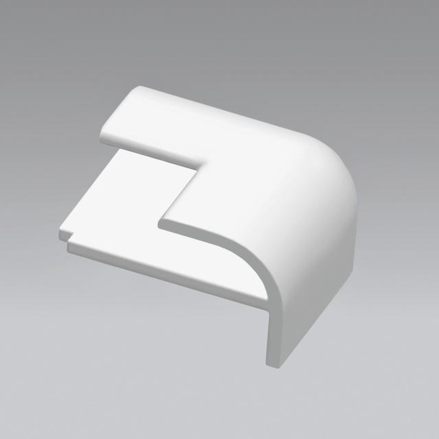 HÜPPE EasyStyle 3-fach-Stoß-Eckkappe weiß