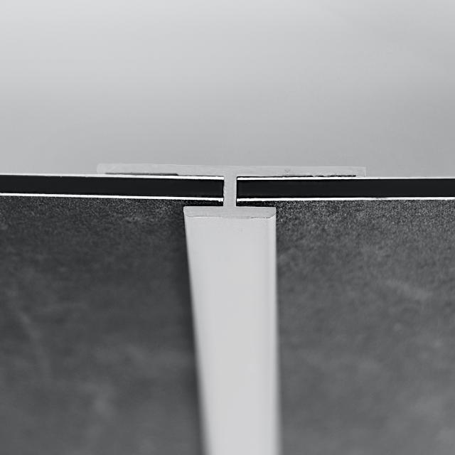 HÜPPE EasyStyle Verbindungsprofil weiß