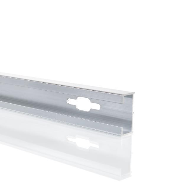 HÜPPE Verbreiterungsprofil um 1,5 cm für Tür silber hochglanz
