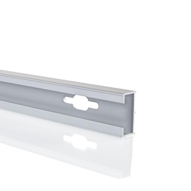 HÜPPE Verbreiterungsprofil um 1,5 cm H: 190 cm silber matt