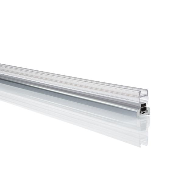 HÜPPE Xtensa pure Ergänzungsset Nische silber hochglanz