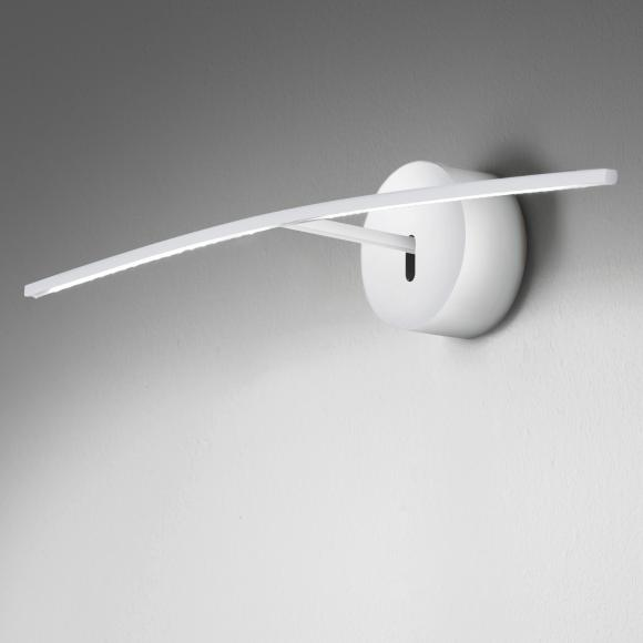 ICONE ALBATROS 70 LED Wand-/Bilderleuchte B: 70 H: 9 T: 13 cm, weiß ALBATROS70MB, EEK: A+