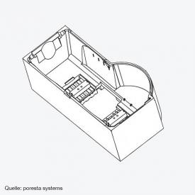 poresta systems Poresta Compact Wannenträger für Riho Dorado