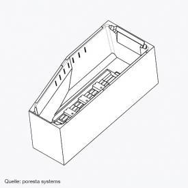poresta systems Poresta Compact Wannenträger Geberit Renova Compact, links
